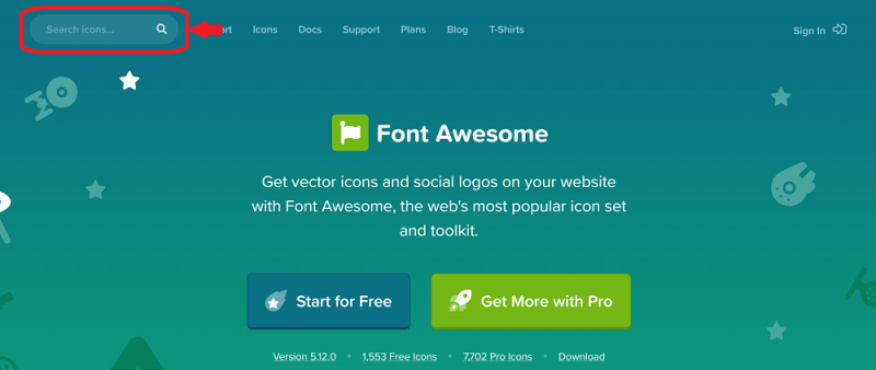 font awesome 公式サイト