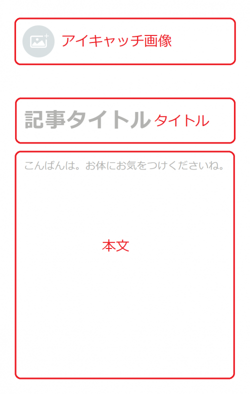 noteのエディター画面